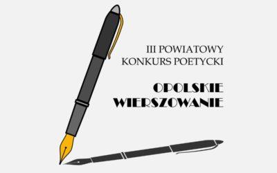 III Powiatowy Konkurs Poetycki