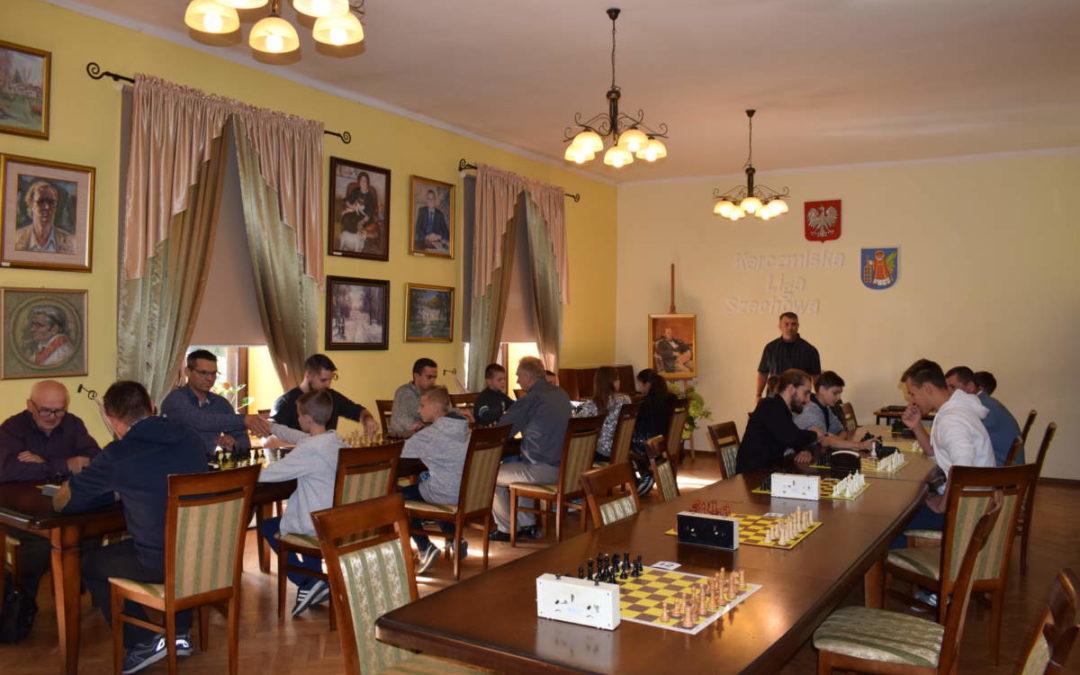 Pierwszy turniej szachowy Karczmiskiej Ligi Szachowej