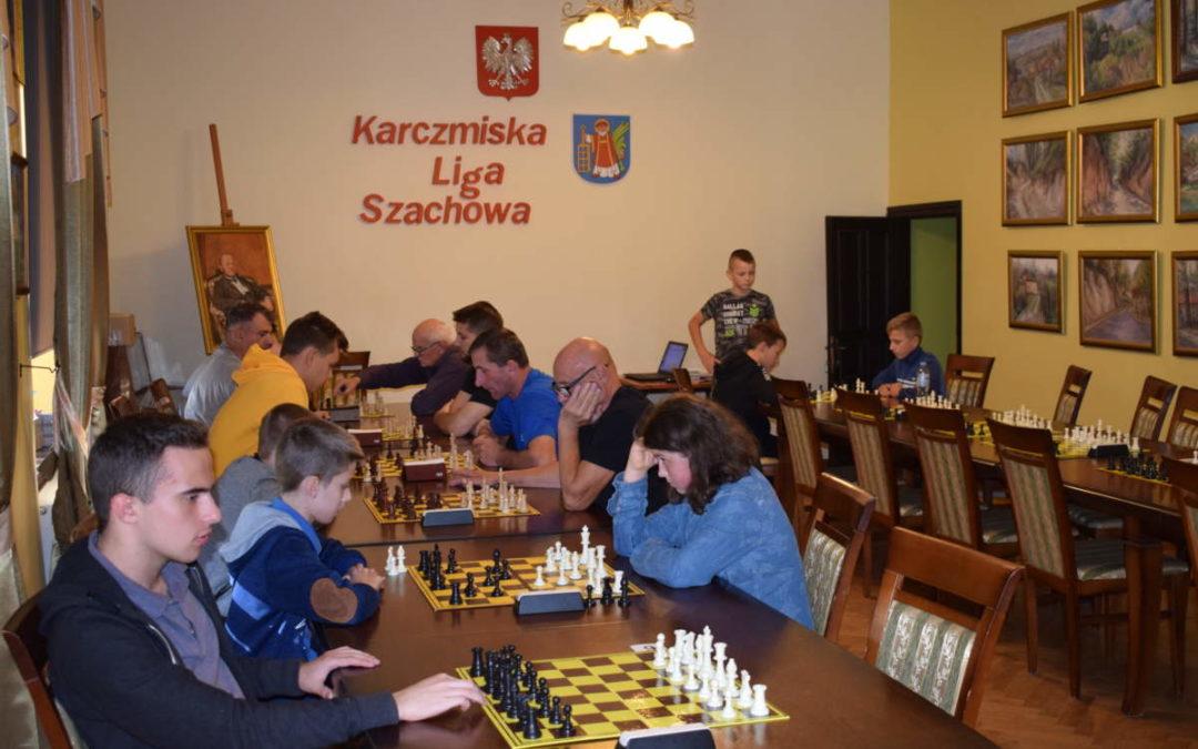 Drugi turniej szachowy Karczmiskiej Ligi Szachowej