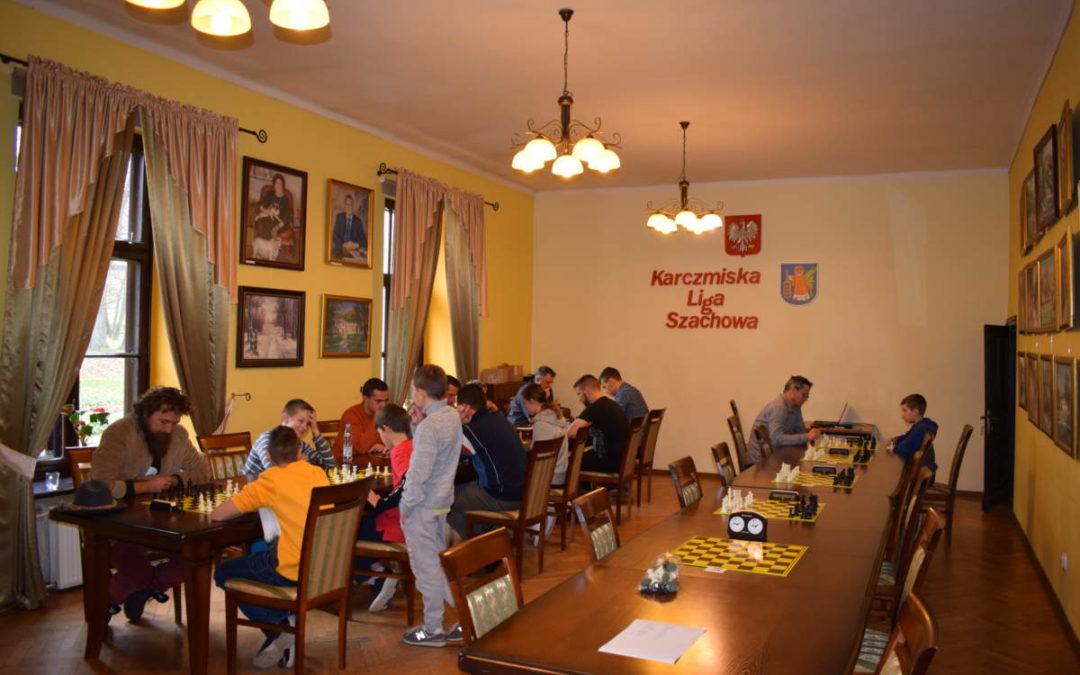 Trzeci turniej szachowy Karczmiskiej Ligi Szachowej